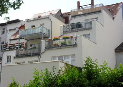 Balkone und Terrassen
